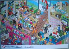 Adobe AIR Launch Postcard