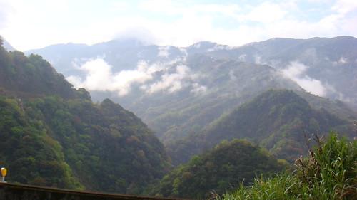 美麗的南投山景