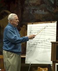 Hugh McGraw teaches the shapes