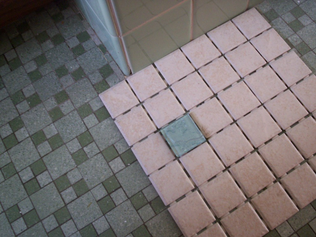Choice for the new bathroom floor