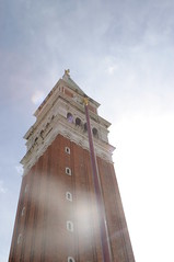 The Campanile in the Piazza San Marco