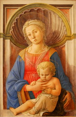 Madonna and Child, Fra Filippo Lippi, c.1440, National Gallery of Art, Washington, DC (Ray .) Tags: washingtondc renaissance nationalgalleryofart madonnaandchild maryandtheinfantjesus renaissanceart frafilippolippi marymotherofjesus theblessedvirginmary lucreziabuti mostbeautifulpaintingofmary