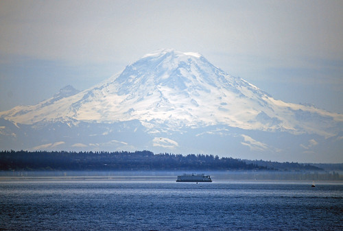 30-Mt Rainier Puget Sound