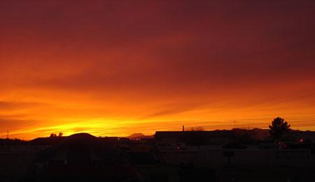 DZ sunset