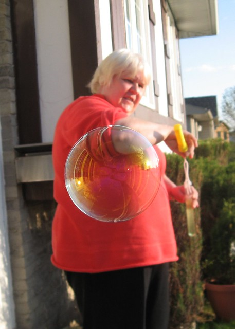 Mum in a Bubble