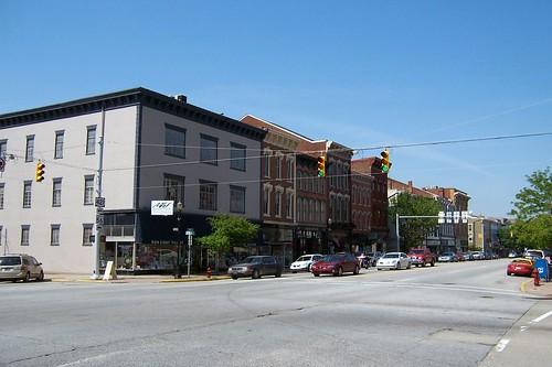 SW corner Main and Jefferson