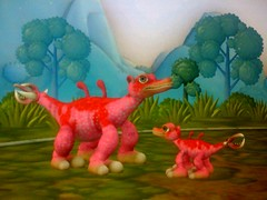 zeeo and baby: my first spore creature
