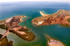 Port Hedland & Finucane Island (The Grateful Dad) Tags: westernaustralia ironore pilbara porthedland finucaneisland