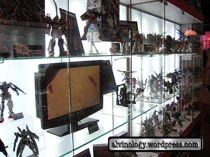 gundam display