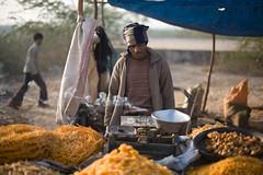 IMG_3967 Sweets on Beneshwar Mela, Rajasthan, India. (Swiatoslaw Wojtkowiak) Tags: india festival rural canon market folk fair 5d trade indien rajasthan inde mela     beneshwar