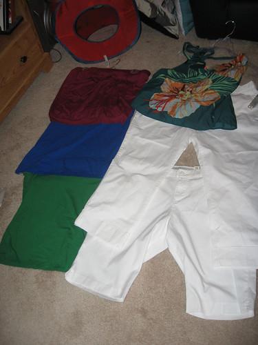 new clothes crop