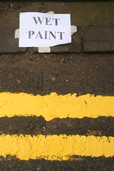 ==== (cumbo) Tags: yellow glasgow line wetpaint