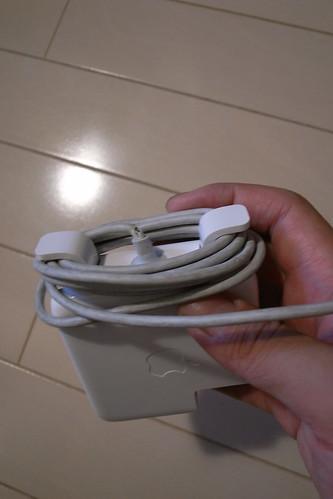 MacBookのアダプタが壊れる