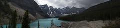 Moraine Lake (Mark Weymouth) Tags: panorama lake mountains alberta morainelake canadianrockies