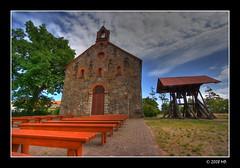 Rowy Church from XIX centaury (Mariusz Petelicki) Tags: church poland polska hdr kościół canonefs1022mm 3xp pomorze rowy canon400d mariuszpetelicki