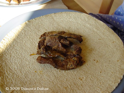 Slow Cooker Fajitas: Meat