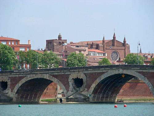 The cultural route in Toulouse