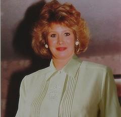 Image005 (Cynthiahavingfun) Tags: sun smile lady fur coat tan blouse bow housewife