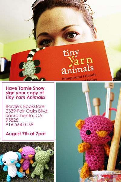 Tiny Yarn Animals by Tamie Snow