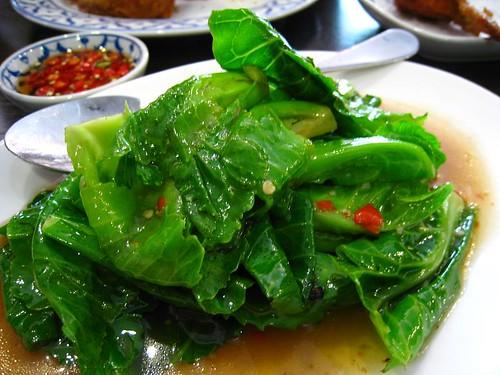 Phad Khad Na - Sauteed Thai Kailan