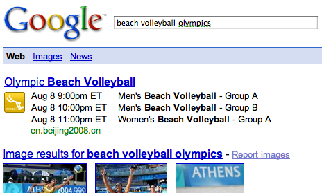 2735966093 549caa9819 o Google OneBox Also Serving Olympics Results in Search