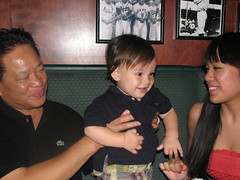 Jack, Uncle Cesar and Christine