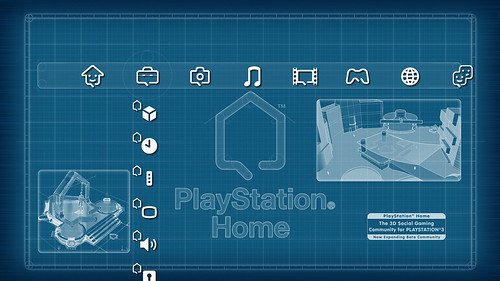 Playstation Home Theme - blog.us.playstation.com