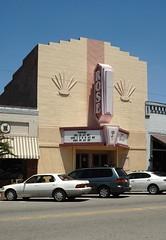 Rose Theatre, Forsyth, Georgia (luxomni) Tags: sign rose georgia marquee nikon theatre d2x signage nikkor forsyth 2485mmf284d luxomni