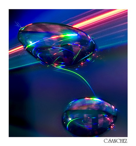 Abtract water drops