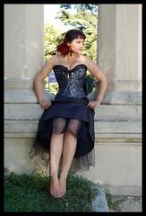 ... (M. Clover) Tags: parque goth corset sanisidro gothicculture