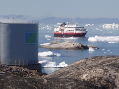 Hurtigrutens Fram (pingvin2007) Tags: grnland ilulissat isbjerge