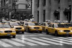 Taxis in NY by neil.lathwood