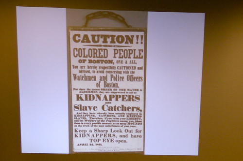 CAUTION COLORED PEOPLE