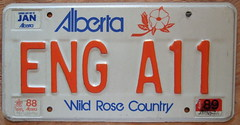 ALBERTA PERSONALIZED plate 6 DIGITS 7 SPACES (woody1778a) Tags: world auto car vanity woody plate licenseplate collection number alberta license plates foreign personalized numberplate licenseplates numberplates carplate carplates autotags cartags foreigns pl8s worldplate