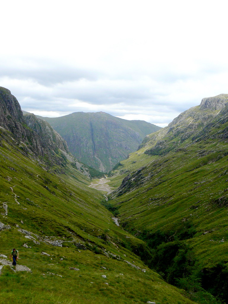 Lost Valley towards Am Bodach