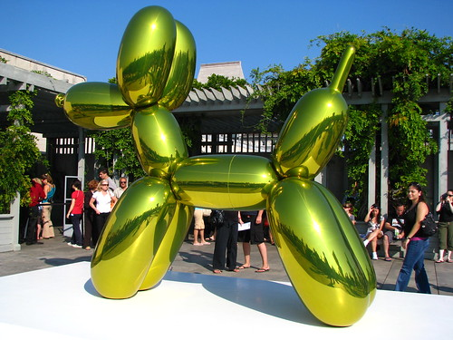 Jeff Koon at the Met