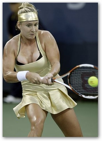 Bethanie Mattek as Wonder Woman