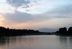 (A.T.E.F.E.H) Tags: sky river iran persia  esfahan isfahan   zayandehroud zayanderood  zayandehrood  zayanderoud      zayandderoud