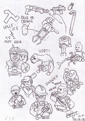 my prototypes sketch V 2.0 (ORRANGE.) Tags: sketch lego v halflife 20 prototypes