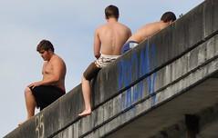 DSC_1733 (bkusler) Tags: boy guy jump beefy dive diving frat swimmer diver stocky