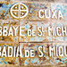 Abbaye St Michael De Cuxa Sign