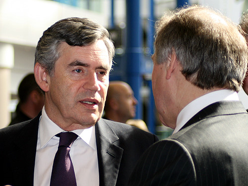 Gordon Brown in Birmingham
