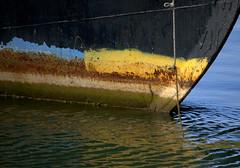 bow (normaltoilet/ LSImages) Tags: ontario canada abandoned water boat nikon rust ship jordan lakeontario ruined d40 jordanstation