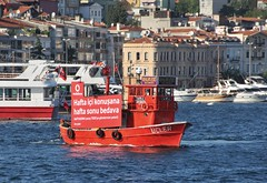 Floating billboard, Istanbul, Turkey, 8 September 2008 (Ivan S. Abrams) Tags: coastguard docks turkey boats nikon mediterranean ataturk ships istanbul maritime getty lighters nikkor tugs straits ports nikondigital blacksea gallipoli ferries harbors watercraft bosphorus tugboats gettyimages vessels freighters tankers harbours cruiseships barges smrgsbord smorgasbord warships destroyers ferryboats navyships speedboats frigates internationaltrade classicboats seaofmarmara navies containerships portcities navalvessels bulkcarriers nikonprofessional chokepoints onlythebestare boatnerd ivansabrams trainplanepro nikond300 internationalshipping sealanes ivanabrams worldwideshipspotters servicecraft gettyimagesandtheflickrcollection smorgasborf feriobots coastalfreighters marinecommerce internationalcommerce maritimecommerce seaportsseaportmaritime crossroadsasiaeuropebosforbogazasia minorboxesintermodal tugobats copyrightivansabramsallrightsreservedunauthorizeduseofthisimageisprohibited tucson3985gmailcom copyrightivansafyanabrams2009allrightsreservedunauthorizeduseprohibitedbylawpropertyofivansafyanabrams unauthorizeduseconstitutestheft thisphotographwasmadebyivansafyanabramswhoretainsallrightstheretoc2009ivansafyanabrams