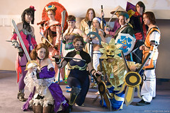Soul Calibur Cosplay Group