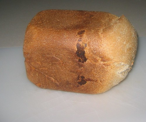 beautiful, fully risen loaf of bread