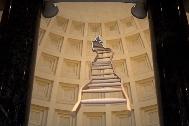 Martin Puryear: Ladder for Booker T. Washington, National Gallery of Art,
