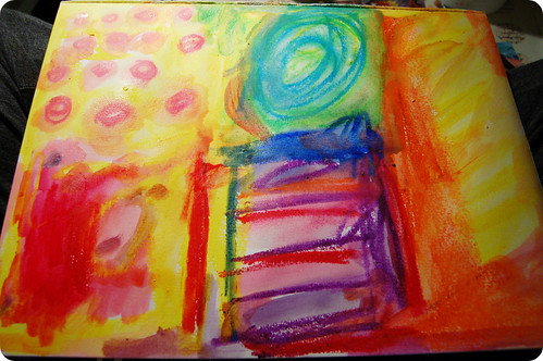 How To Use Water Soluble Oil Pastels Creating Backgrounds