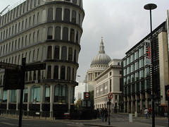 St Pauls, from Cannon Street
