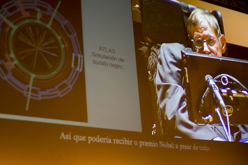 Hawking claims the Nobel prize ;-)